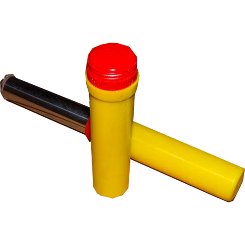 Фаєр червоний FF-03 ручний в пластиковому корпусі