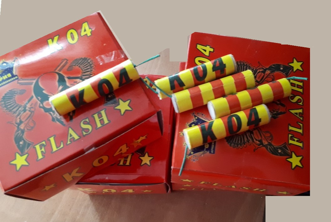 Петарда Flash К04 (1 пач/36шт)