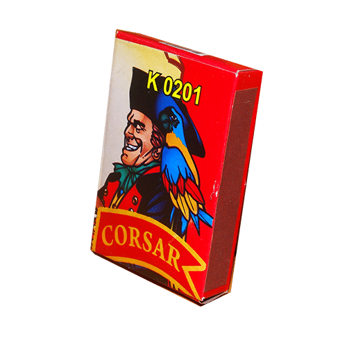 K0201 Петарда Корсар 1 (червоний)