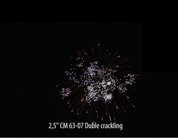 2.5″Ядро Куля Подвійний тріск Duble crackling