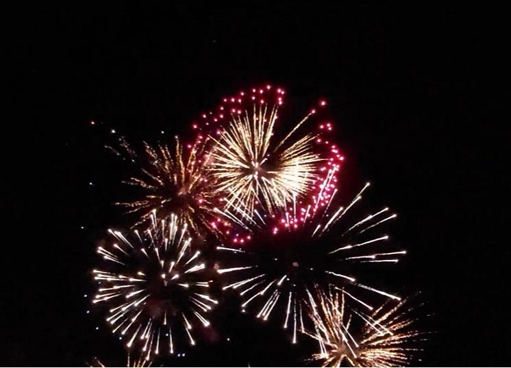Феєрверк на День Незалежності США